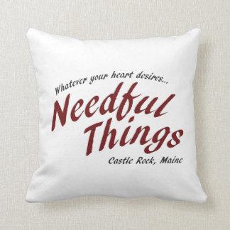 Needful Things Cushion