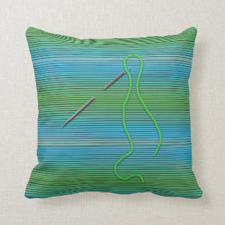 Needle and Thread - Pillow - Green/Blue