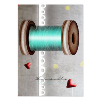 Needle spool Sewing Thread tailor Business Card