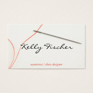 Needle & Thread Business Card