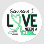 NEEDS A CURE 2 CELIAC DISEASE T-Shirts & Gifts Round Stickers