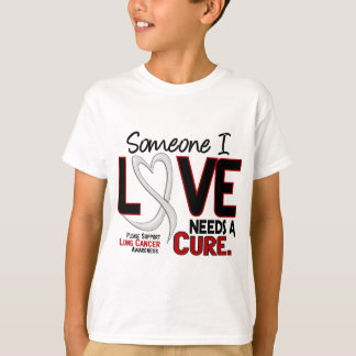 NEEDS A CURE 2 LUNG CANCER T-Shirts & Gifts