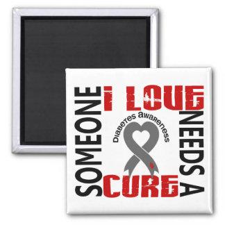 Needs A Cure 4 Diabetes Refrigerator Magnet