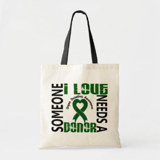 Needs A Donor 4 Organ Donation Budget Tote Bag