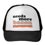 Needs More Bacon Mesh Hats