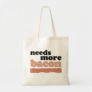 Needs More Bacon Tote Bag