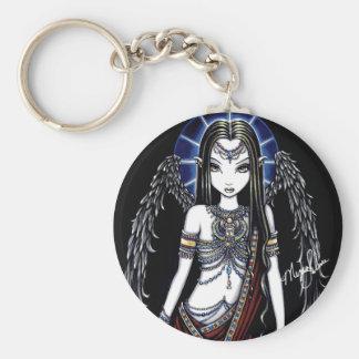 Nefertari Egyptian Angel Goddess Keychain