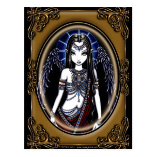 """Nefertari"" Egyptian Guardian Angel Postcard"