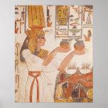 Nefertari Making an Offering Poster