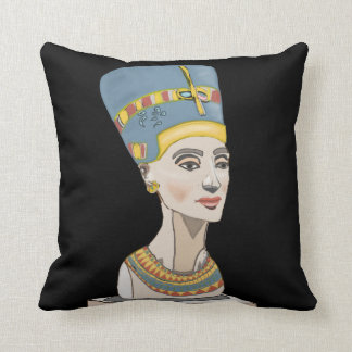 Nefertiti and Cartouche Cushion