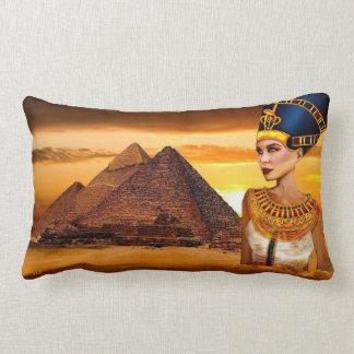 nefertiti egyptian queen Pillow
