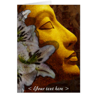 nefertiti purity and beauty (card) card