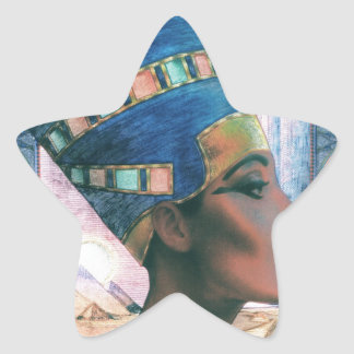 Nefertiti Star Sticker