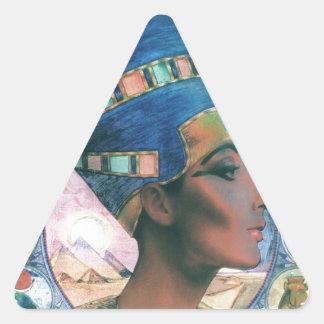 Nefertiti Triangle Sticker