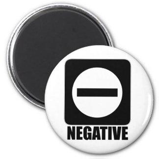 Negative 1 Black Magnets