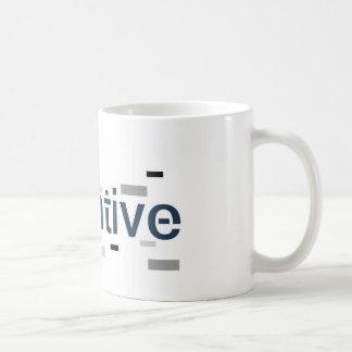 Negative Basic White Mug