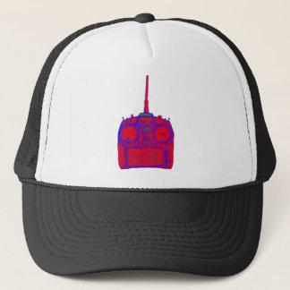 Negative Effect Red/Purple Spektrum RC Radio Trucker Hat