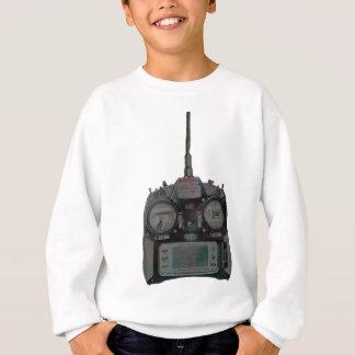 Negative Effect Silver/Red Spektrum RC Radio Sweatshirt