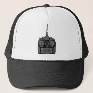 Negative Effect Silver/Red Spektrum RC Radio Trucker Hat