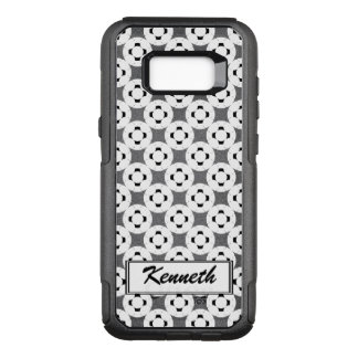 Negative Gamepad by Kenneth Yoncich OtterBox Commuter Samsung Galaxy S8+ Case