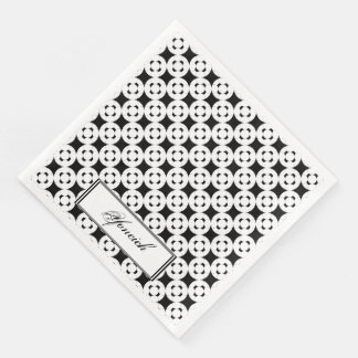 Negative Gamepad by Kenneth Yoncich Paper Serviettes