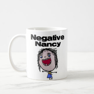 Negative Nancy Basic White Mug