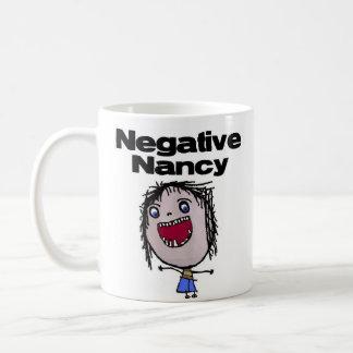 Negative Nancy Classic White Coffee Mug