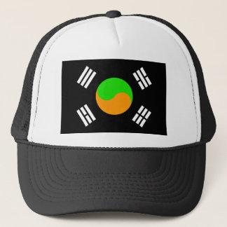 Negative South Korean Flag Trucker Hat