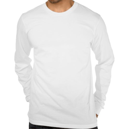 Negative Zero Mens Long Sleeve Fitted T Shirt