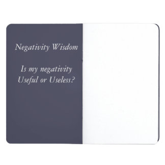 Negativity Wisdom Pocket Journal