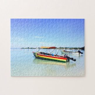 Negril Beach Resort Jamaica. Jigsaw Puzzle