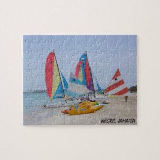 Negril, Jamaica Beach Puzzle