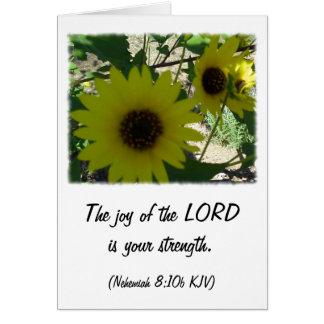 Nehemiah 8:10 stationery note card