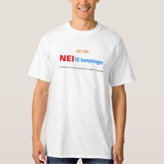 Nei til bompenger tee shirt