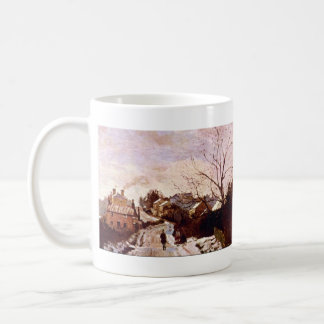 Neige a Lower Norwood by Camille Pissarro Coffee Mug