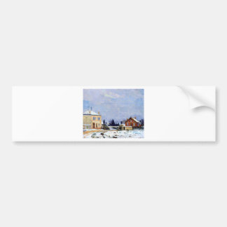 Neige by Armand Guillaumin Bumper Sticker