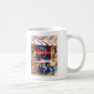 Neighborhood Barber Shop Coffee Mugs