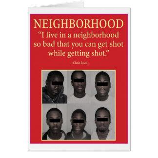 neighborhood greeting card