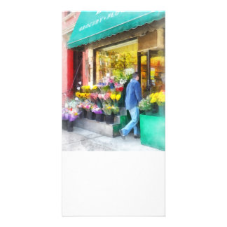 Neighborhood Flower Shop Photo Cards