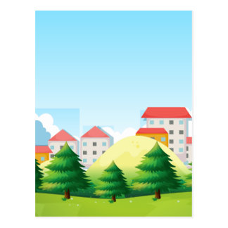 Neighborhood Postcard
