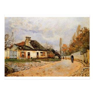 Neighborhood Street in Louveciennes Alfred Sisley Postcard