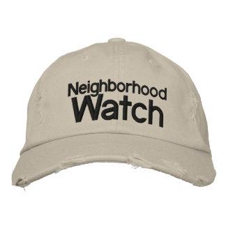 Neighborhood Watch Hat Embroidered Baseball Caps