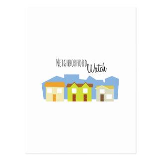 Neighborhood Watch Postcard
