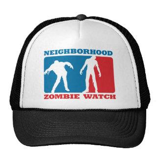 Neighborhood Zombie Watch - Red and Blue Mesh Hats
