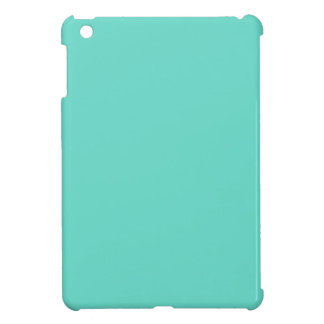 Neighborly Quietude Turquoise Blue Color iPad Mini Case
