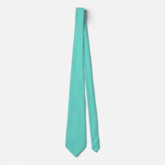 Neighborly Quietude Turquoise Blue Color Tie