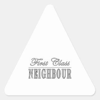 Neighbours First Class Neighbour Sticker