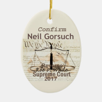 Neil GORSUCH Supreme Court Ornament
