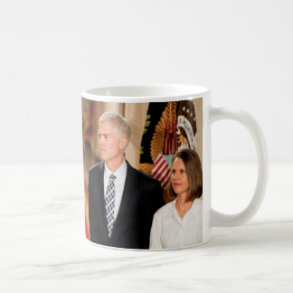 Neil & Marie Gorsuch With President Donald Trump Coffee Mug