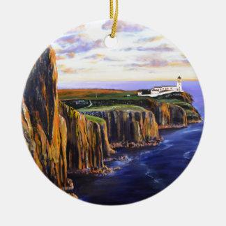 Neist Point - Isle of Skye Ceramic Ornament